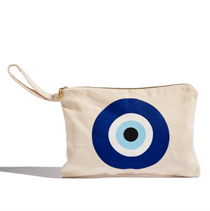 Evil Eye cotton canvas
