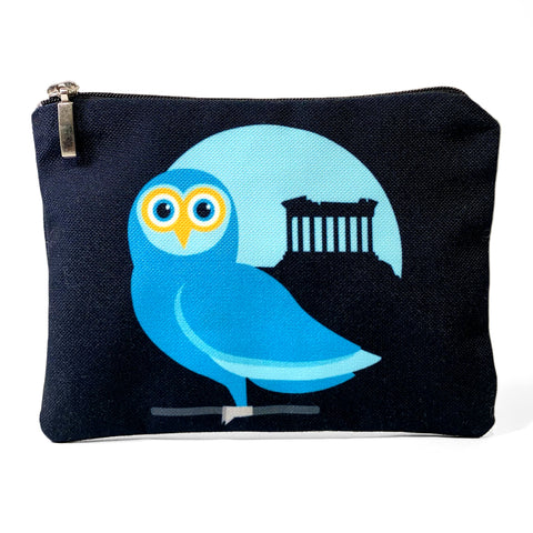 Athenian Owl with Acropolis bag