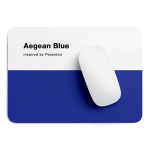 Aegean Blue mouse pad