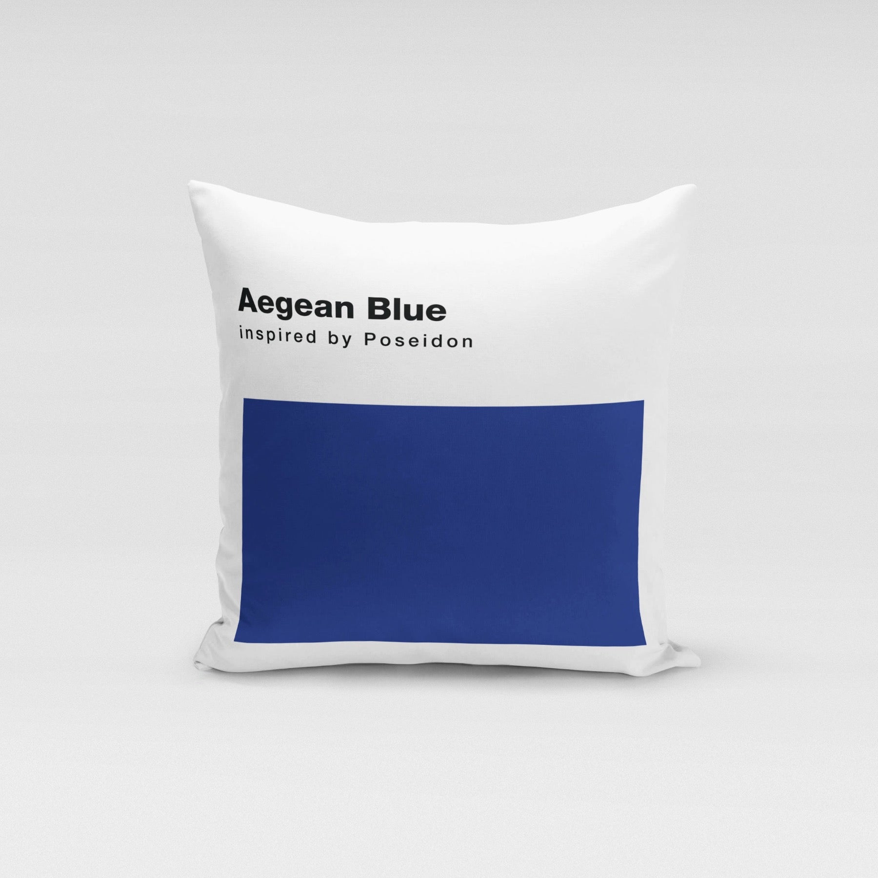Aegean Blue  Pillow