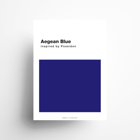 Aegean Blue poster