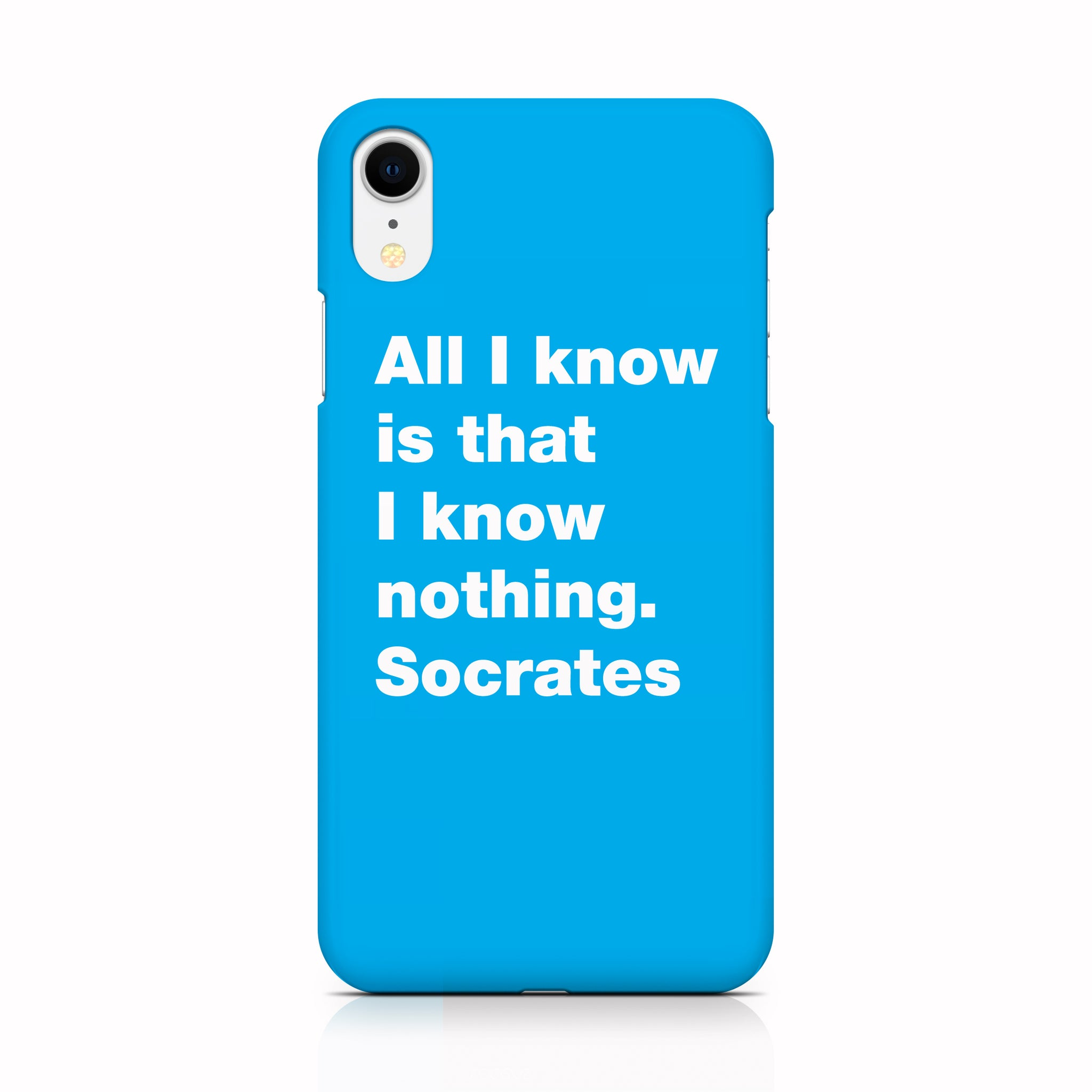 Socrates phone case for iPhone XR