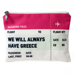 We will always have Greece ticket bag