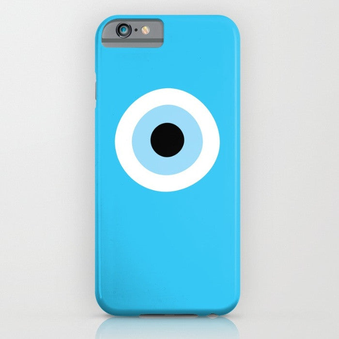 Turquiose Evil Eye phone case for iPhone 6/6s