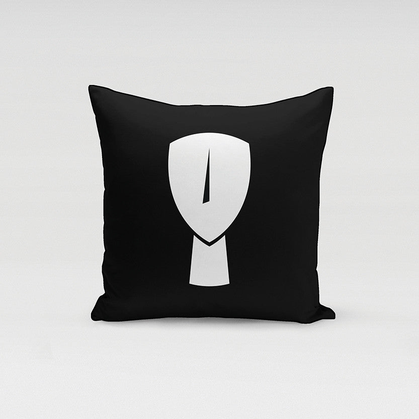 Cycladic Icon Pillow