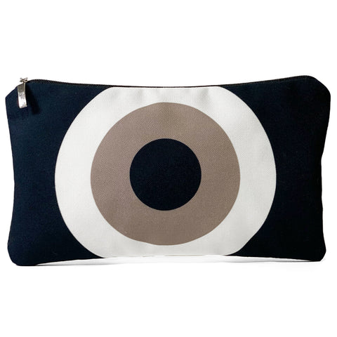 Black beige Evil Eye bag