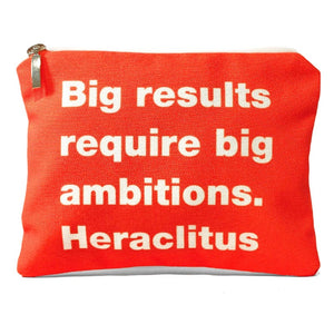 Big results. Heraclitus bag