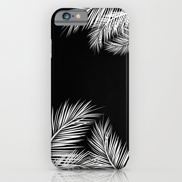 Black Summer phone case for iPhone 7/8