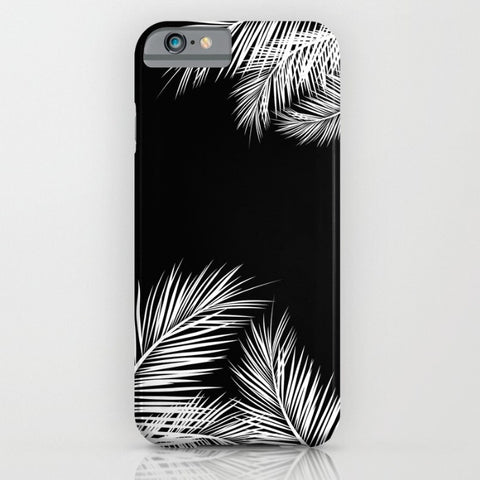 Black Summer phone case for iPhone 7/8 and New SE (2020)