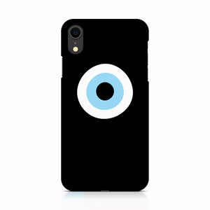 Black Evil Eye phone case for iPhone XR
