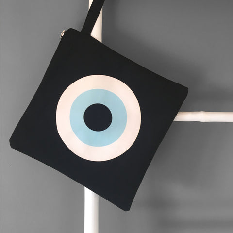 Black Evil Eye Swim Bag