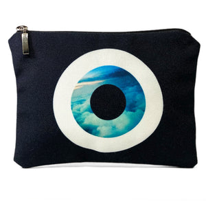 Black Sky evil eye bag