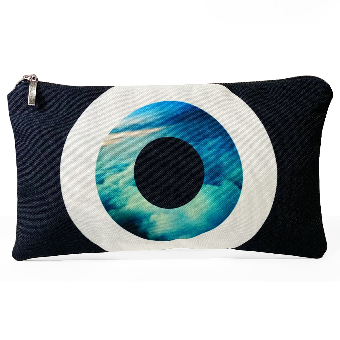 Black Sky Evil Eye cosmetic bag