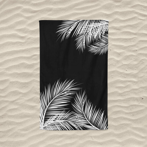 The Black Summer Towel
