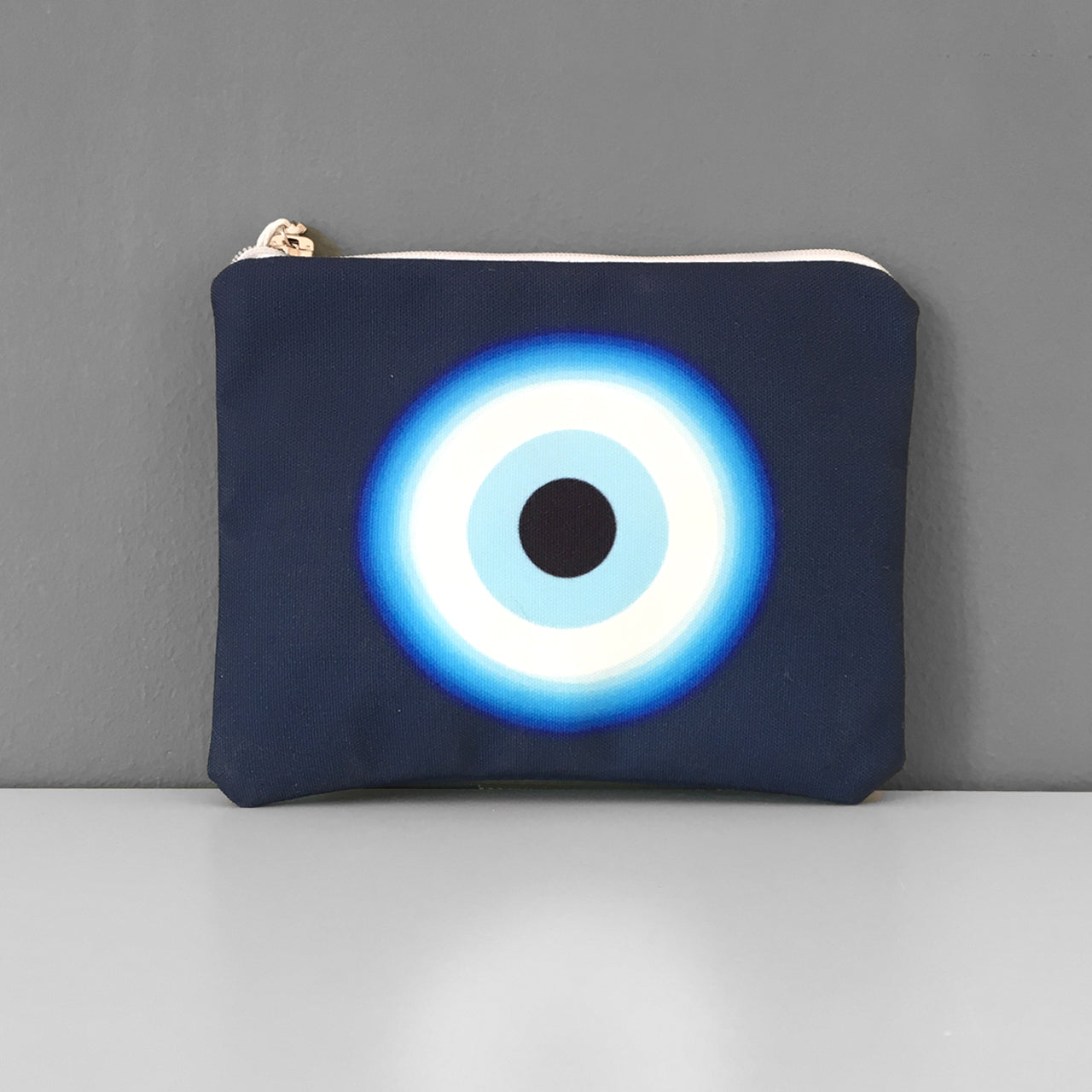 Blue Waves eye coin purse