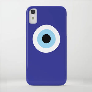Blue Evil Eye phone case for iPhone XMax