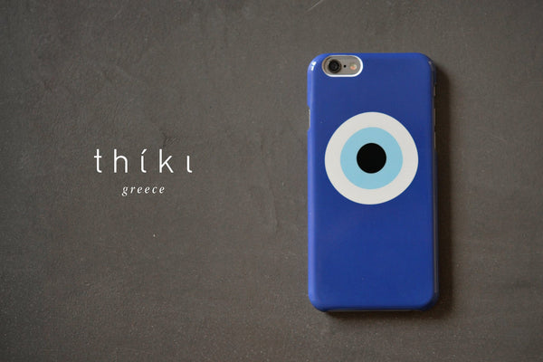 Blue Evil Eye phone case for iPhone 6/6s
