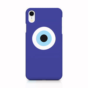 Blue Evil Eye phone case for iPhone XR
