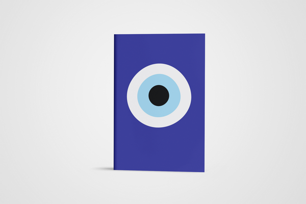 The Blue Eye / A5 notebook