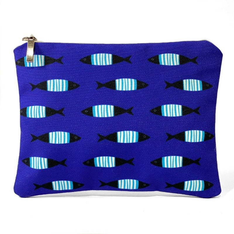 Blue Fish pattern bag