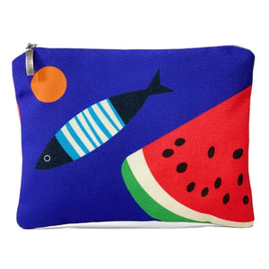 Blue Fish Watermelon bag