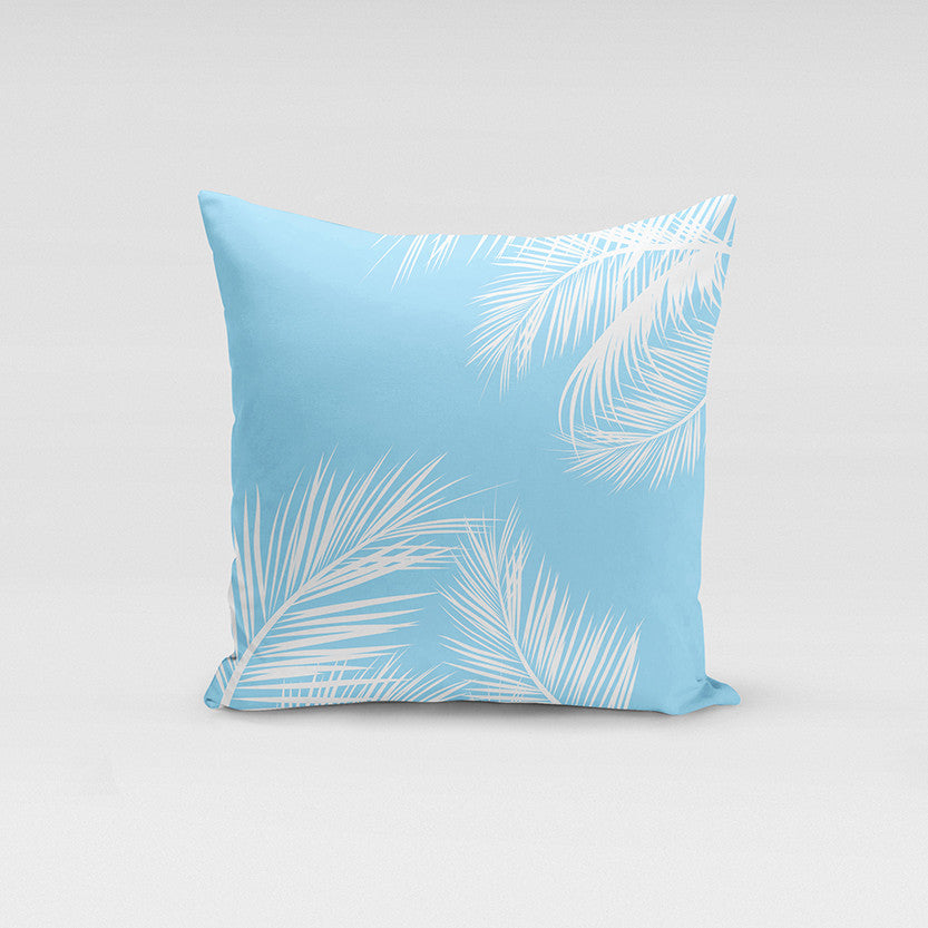 Light Blue Summer Pillow