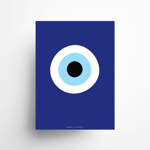 The Blue Evil Eye poster