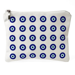 Classic evil eye pattern bag