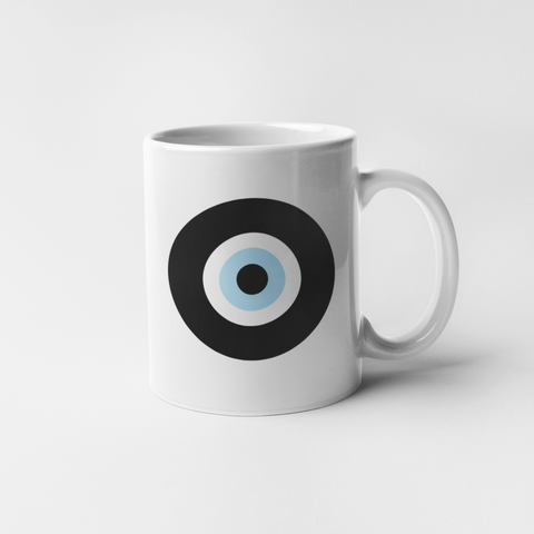 The Black Evil Eye mug