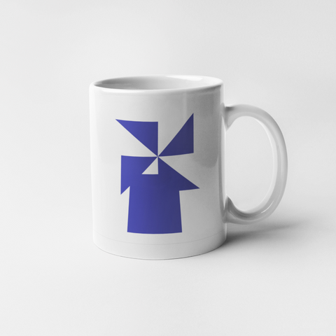 The Aegean Windmill mug