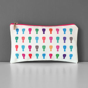 Cyclades in color cosmetic bag
