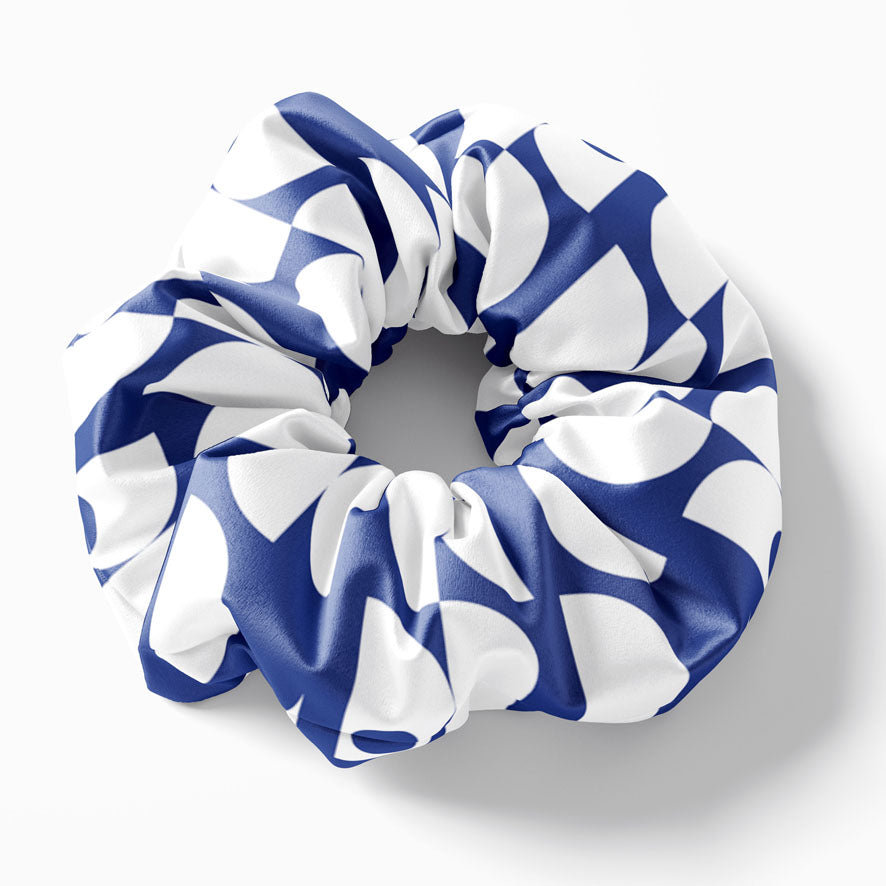 Cycladic day scrunchie