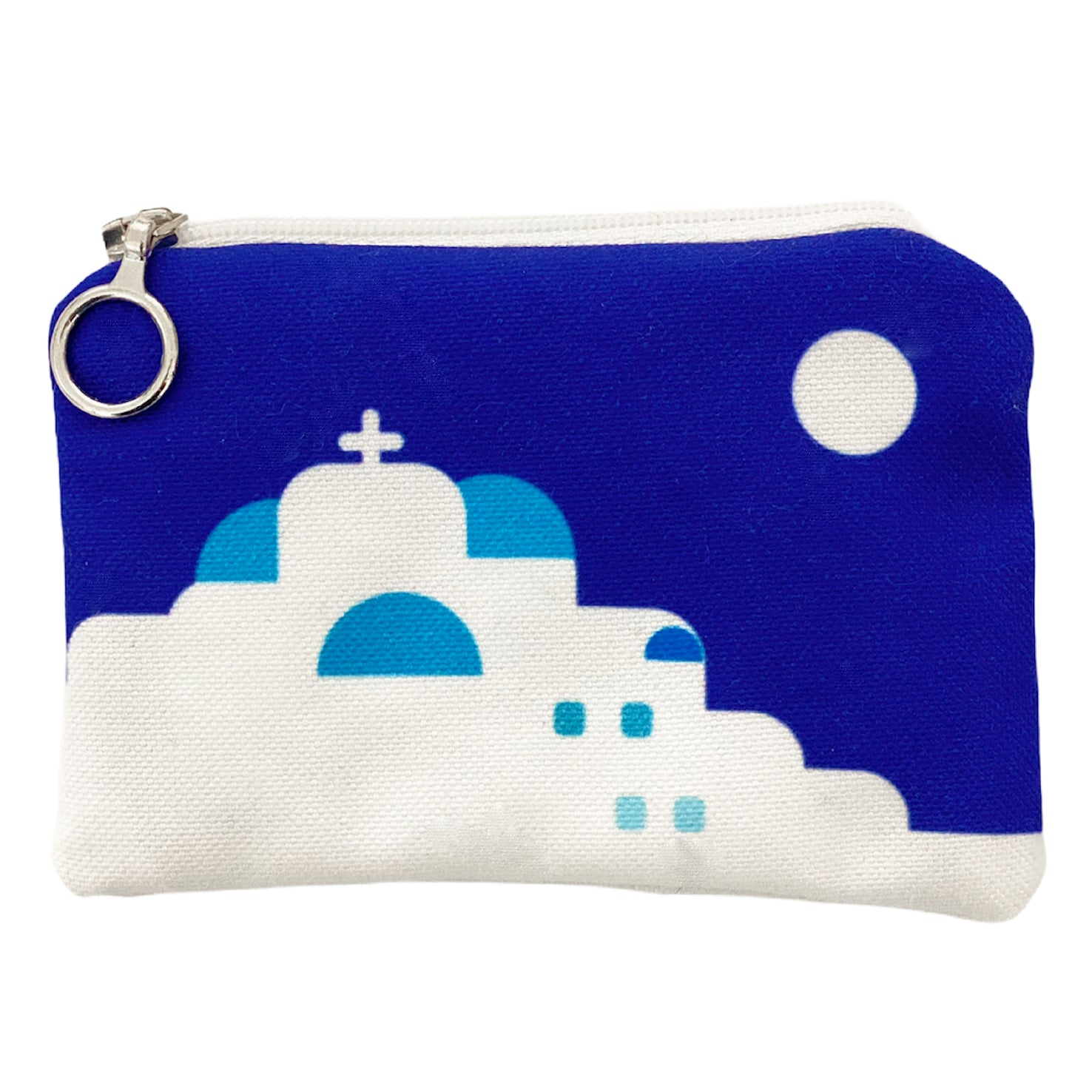 A day in Cyclades mini coin purse
