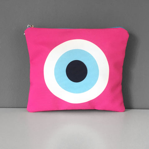Fuchsia Evil Eye
