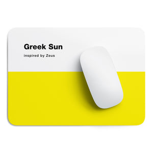 Greek Sun mouse pad