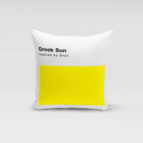 Greek Sun Pillow
