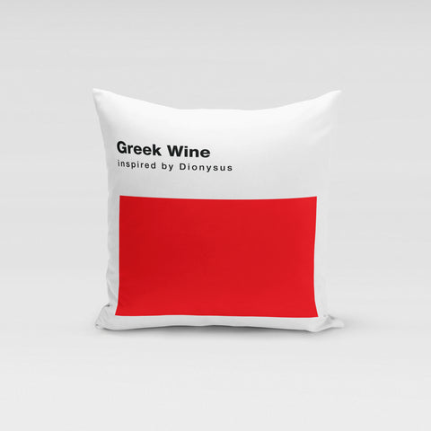 Greek Wine Pillow