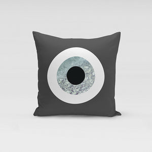The Grey Rock Pillow