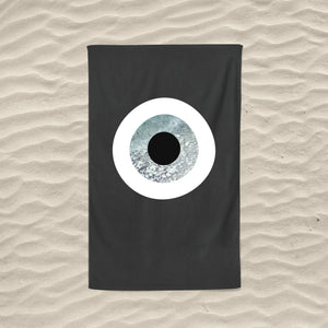 The Grey Rock Evil Eye Towel