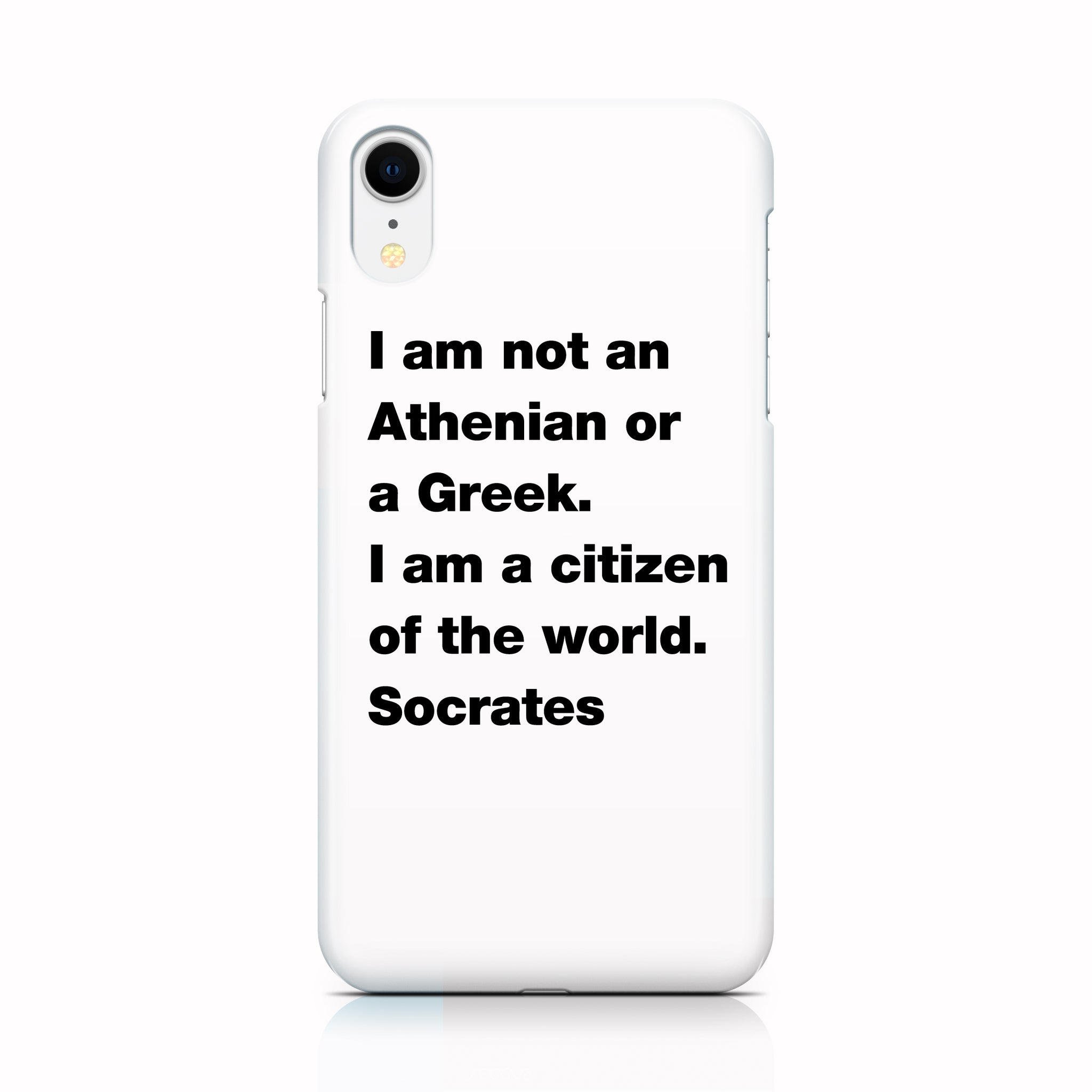 Citizen of the World phone case for iPhone XR