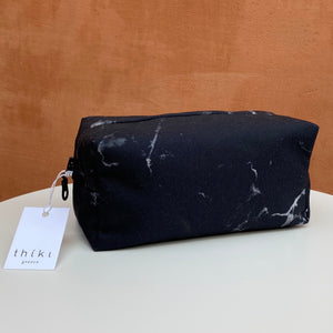 Black marble box bag