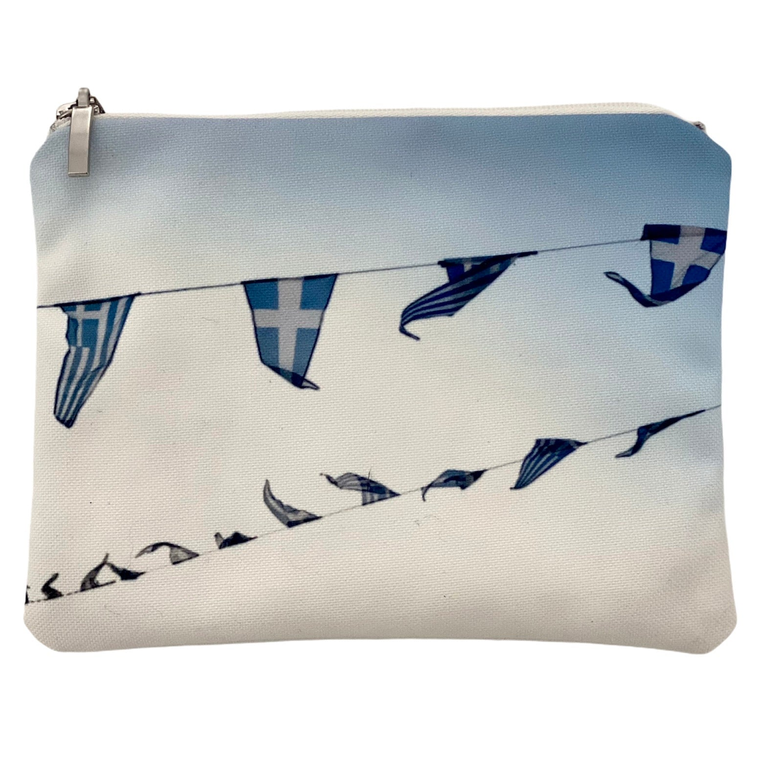 Island life - Greek flags bag