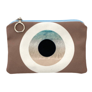 Koufonisi evil eye mini coin purse
