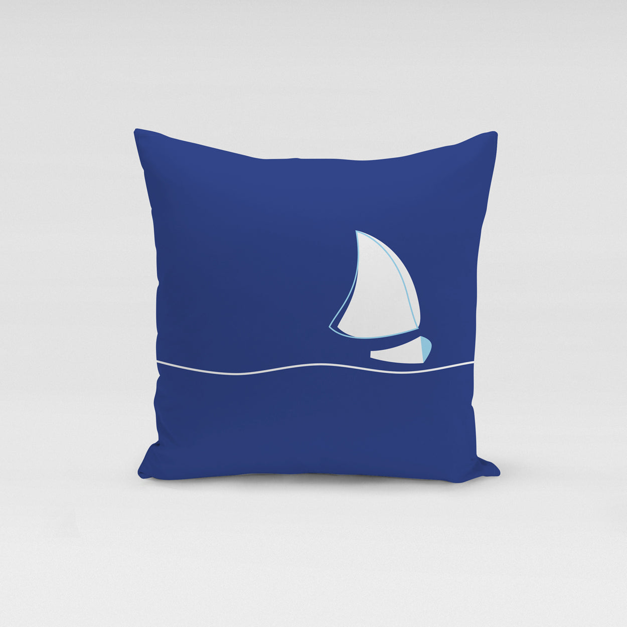 Blue Journey Pillow