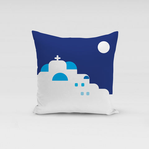 A day in Cyclades Pillow