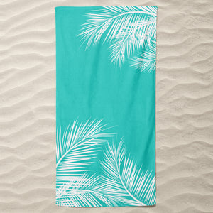 Mint Summer Beach Towel