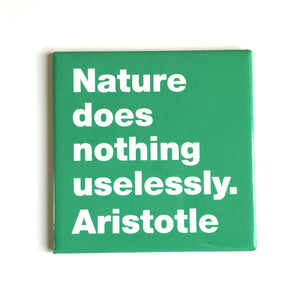 Nature -Aristotle magnet