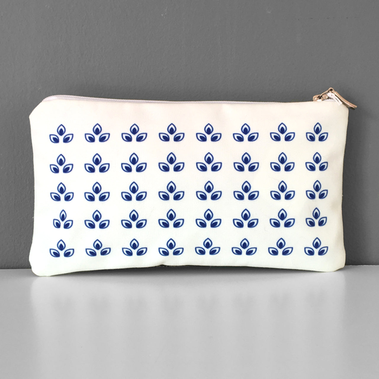 Blue Olives cosmetic bag