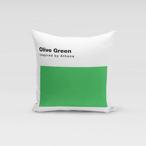 Olive Green Pillow