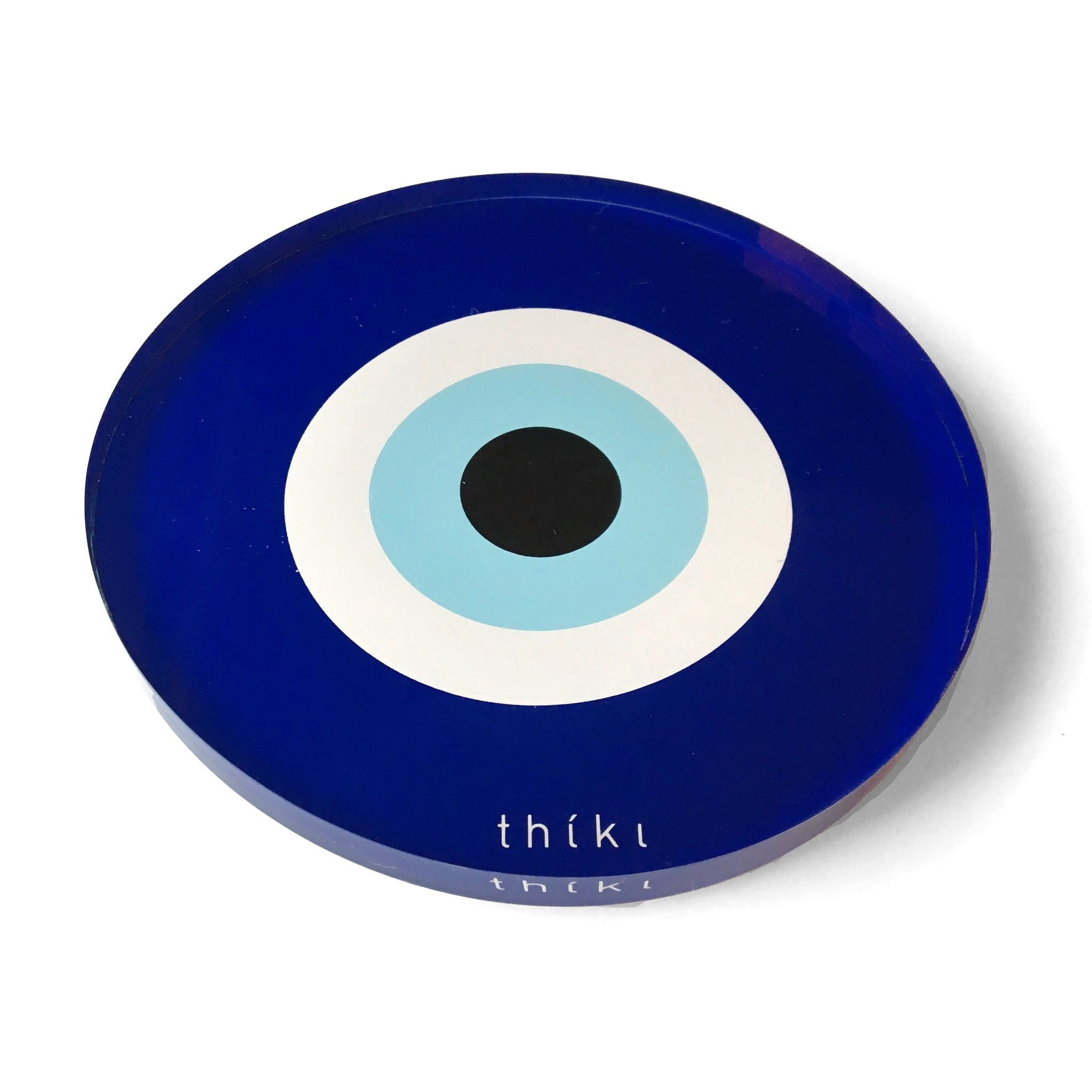 Blue Evil Eye Coaster